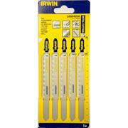 Irwin 10504230 132mm Metal Cutting HSS Jigsaw Blades T318A - Pack of 5