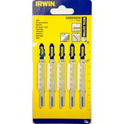 Irwin  92mm Metal Cutting HSS Jigsaw Blades T118G - Pack of 5