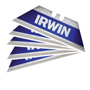 Irwin 10504240 IRWIN Bi-Metal BLUE Trapezoid Blade - Pack of 5