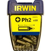 Irwin 10504331 Irwin PH2 25mm Screwdriver Bits - Pack of 10