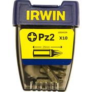 Irwin PZ2 25mm Screwdriver Bits - Pack of 10