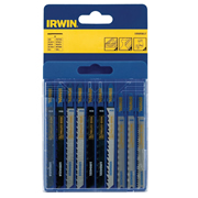 Irwin 10505817 Metal & Wood Cutting Jigsaw Blade 10 Piece Set