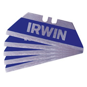 Irwin 10505823 IRWIN Bi-Metal BLUE Safety Trap Blades - Pack of 5