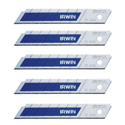 Irwin 10507103 IRWIN Bi-Metal BLUE Snap-Off Blades 18mm - Pack of 8
