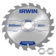 Irwin 1897203 Irwin Construction Saw Blade 210mm x 30mm 20T Corded