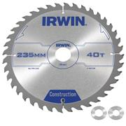 Irwin 1897208 Irwin Construction Saw Blade 235mm x 30mm 40T Corded