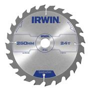 Irwin 1897210 Circular Saw Blade - 250mm/24T