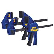 Irwin XMS21CLAMP12 Irwin Quick Grip 12in Clamp Twin Pack