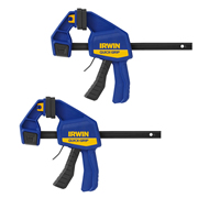 Irwin T506QCELPK2 IRWIN Quick-Grip Medium-Duty Clamp 150mm/6'' - Pack of 2
