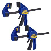 Irwin T512QCEL7PK2 IRWIN Quick-Grip Medium-Duty Clamp 300mm/12'' - Pack of 2