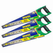 "Irwin 10505211PK3 Jack 770 Plus Coarse Handsaw 550mm/22"" 7TPI - Pack of 3"