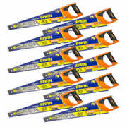 Irwin 10505213PK10 Jack 880 Plus Universal Handsaw 550mm/22' - Pack of 10