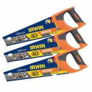 Irwin 1897526PK3 Jack 880 Plus Universal Handsaw 350mm/14' - Pack of 3