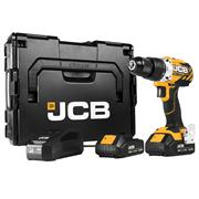 JCB JCB-18BLDD-2 18v Brushless Drill Driver with 2 x 2Ah Batteries, Charger and Case