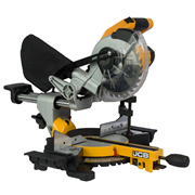 JCB 18BLMS-B 18v Brushless 185mm S/B Sliding Mitre Saw - Body