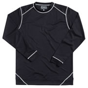 JCB BASELAYERT JCB Base Layer Long Sleeved Top (Black)