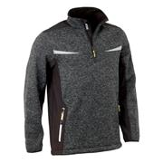 JCB DJEGRY Elmhurst 1/4 Zip Fleece - Grey