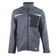 JCB ESSINGTONGR JCB Essington Full Zip Jumper - Grey
