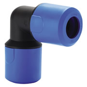 Speedfit UG302B Speedfit 25mm Blue Equal Elbow