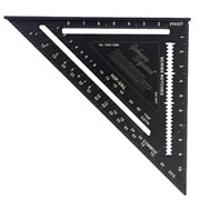 Johnson JL1904-1200 Professional Easy-Read Aluminium Rafter Square 12""
