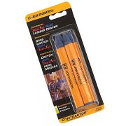 Johnson JL3502-B Johnson Level Lumber Crayon Blue - Pack of Two