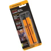 Johnson JL3502-K Lumber Crayon Black - Pack of Two