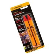 Johnson JL350-R Lumber Crayon Red - Pack of Two