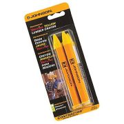 Johnson JL3502-Y Johnson Level Lumber Crayon Yellow - Pack of Two