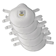 JSP 130 FLEXINET Disposable Dust Mask FFP3- Valved - Pack of 5