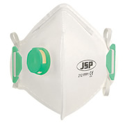 JSP BEB110-101-000 OLYMPUS FoldFlat Disposable Dust Mask FFP1- Valved PK10