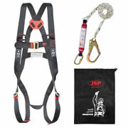 JSP FAR1102 SPARTAN Fall Arrest Kit with 1.8m Lanyard