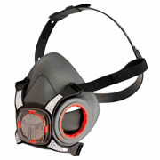 JSP BHT003-0L5-000 JSP FORCE 8 Typhoon Valved Half Mask - Without Filters
