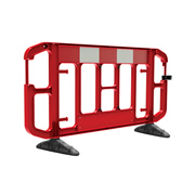 JSP KBA073-000-600 JSP Titan 2m Traffic Barrier Red/White