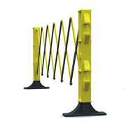JSP KAZ110-005-300 JSP Titan Expander Barrier 3m Black/Yellow