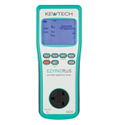 Kewtech EZPATPLUS Manual PAT Tester 230v/110v Run Leakage