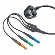 Kewtech KAMP12UK Kewtech Mains Lead For MFT KT63,KT64DL & KT65DL