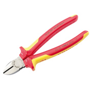 Knipex 32021 (7006180UK) Knipex VDE Diagonal Side Cutters 180mm