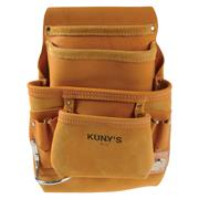 Kunys API933 10 Pocket Full Grain Leather Tool Pouch