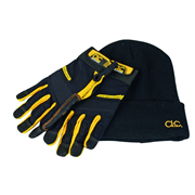 CLC FLGLOVE Flexi-Grip Gloves & Beanie Hat