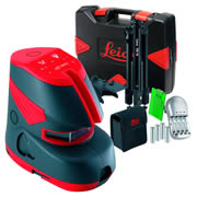 Leica L2PLUSGKIT Leica Self Levelling Cross Line Laser - Green Kit