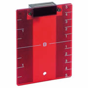 Leica 758831 Leica Red Target Plate for Roteo 35R Rotary Laser