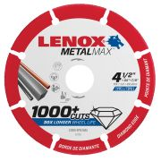 "Lenox 2030865 Metalmax Cut-Off Blade 115mm (4.5"")"