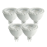 Luceco LMW5G37501 LED Glass MR16 3.5w GU5 370Lm Warm White Lamps - Box of 5