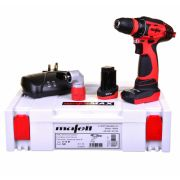 Mafell 919921 10.8V Drill Driver with 1 x 4Ah + 1 x 2Ah Batteries, Charger and Case