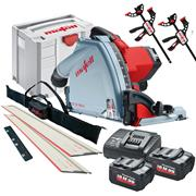 Mafell MT5518MBLKIT Mafell 18v Cordless 57mm Circular Plunge Cut Saw Kit