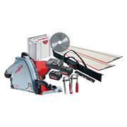 Mafell MT5518MBLKIT1 Mafell 18v Cordless 57mm Circular Plunge Cut Saw Kit