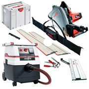 Mafell MT55CC KIT2M Mafell 57mm Circular Plunge Cut Saw & Dust Extractor Package 2