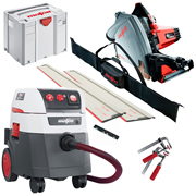 Mafell MT55CC KITM Mafell 57mm Circular Plunge Cut Saw & M CLass Dust Extractor Package