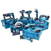 Makita 10CMJ 18v Li-ion 4.0Ah Cordless 10 Piece Kit