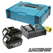 Makita POWER3 (110v) Makita 18V 3.0Ah Power Pack (110v Charger)